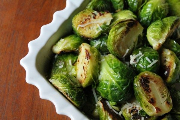 golden sauteed Brussels sprouts recipe- the key is to not overcook