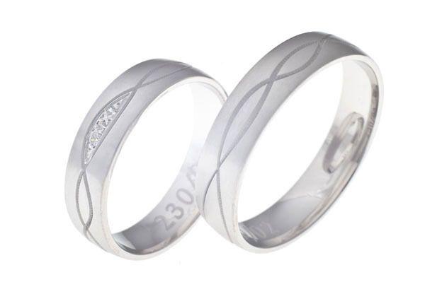 Snubní prsteny - model č. 230/02