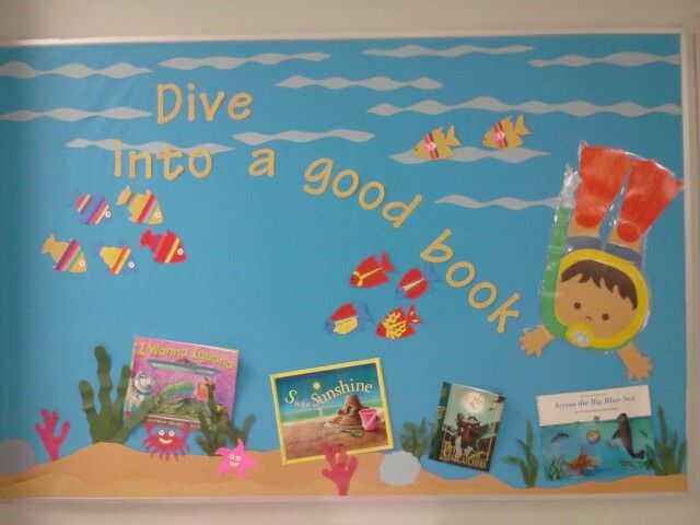 Dive into a good book