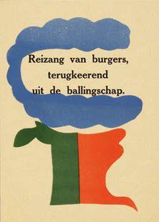 Hendrik Werkman. Poetry
