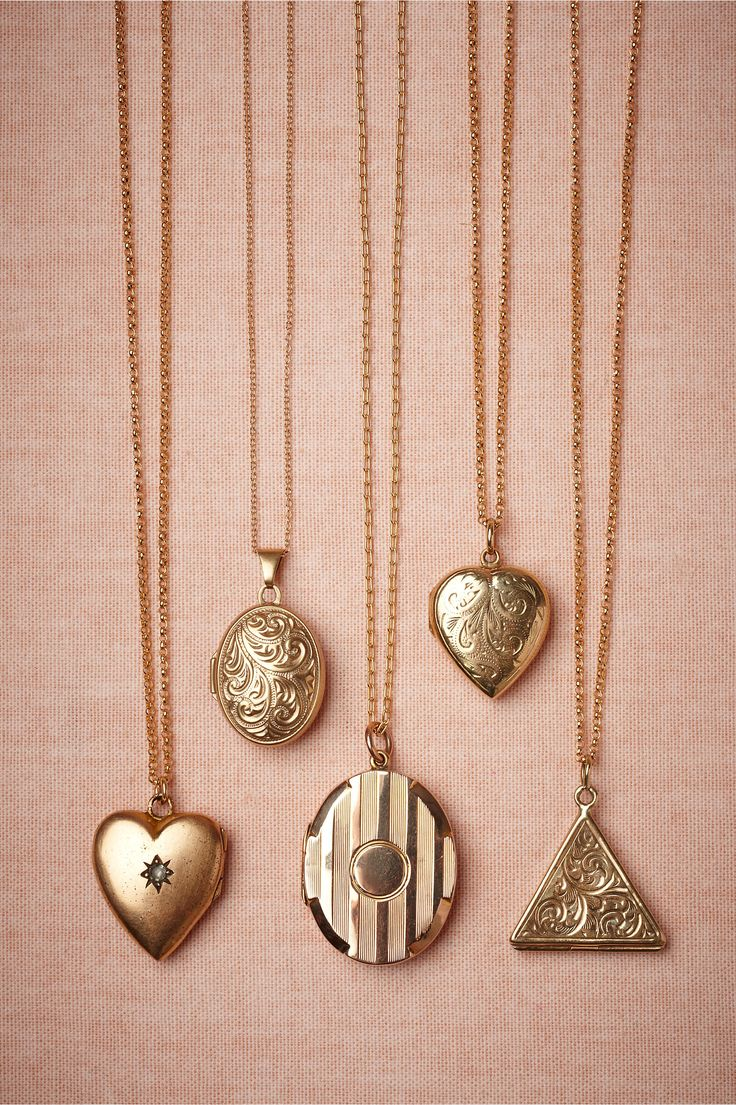 Collectors Lockets from BHLDN