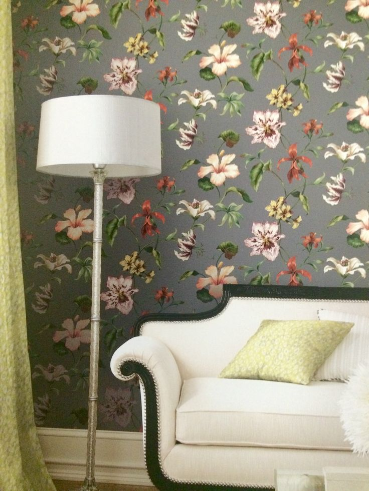 Stylish Southern charm emanates from Jaima Brown's new Charleston Home collection.  Wallpapers and Fabrics available at http://lelandswallpaper.com #homedecor