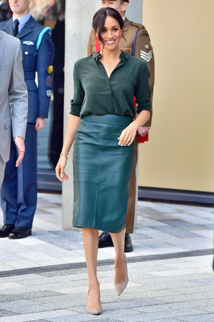 Meghan Markle's outfits for after-shopping