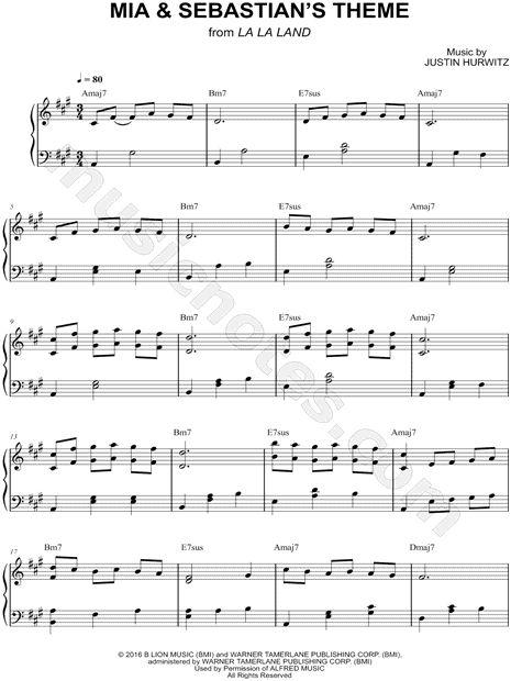 La La Land Piano Sheet Music Free Another Day Of Sun