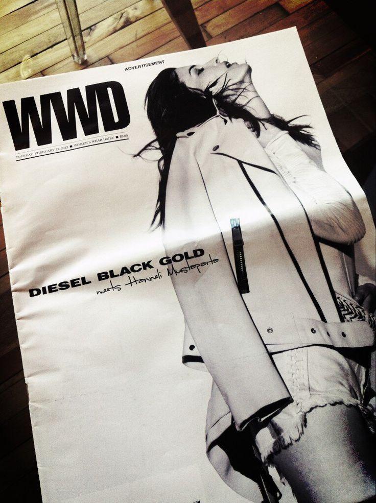 @HanneliM for @WWD #DBGshow #NYFW