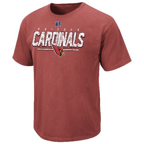 Arizona Cardinals Vintage Roster II T Shirt by VF-Pigment Red $22.95