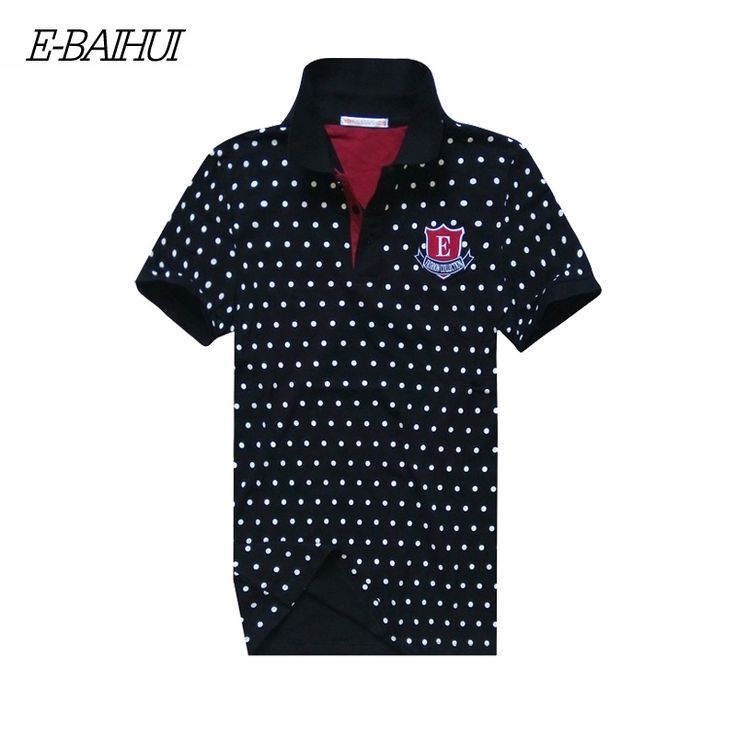 E-BAIHUI Brand  Summer men Tenis Polo Shirt Cotton Polo shirts Men Camisa Polo Shirt Men casual tops tees sloid poloshirts P010