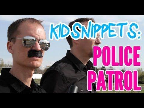[Kid Snippets: Police Patrol (Imagined by Kids) - BoredShortsTV]