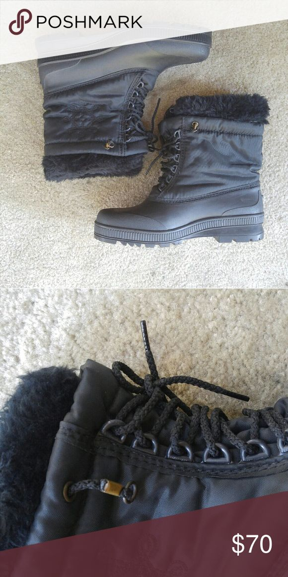Sorel duck boots winter faux 10 Worn one time Sorel Shoes Winter & Rain Boots