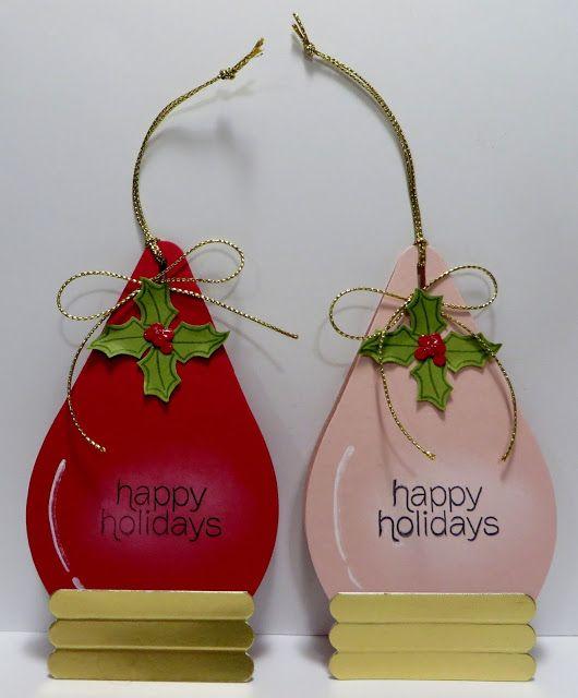 Lynn's Locker: Stampin' Up Curvy Keepsake Box - Christmas Light Bulb Ornament Treat Holder and Stampin' Up 2016 Occasions Catalog Sneak Peek