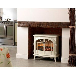 (HBP)Dimplex CHEVALIER Traditionally Styled Optiflame Effect Electric Stove, With Remote Control , 2 Kilowatt, With Hang Buddy Pro