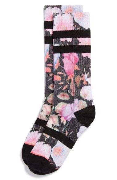 Nirvana | Serafini Amelia| Stance 'Garden Punk' Socks available at #Nordstrom