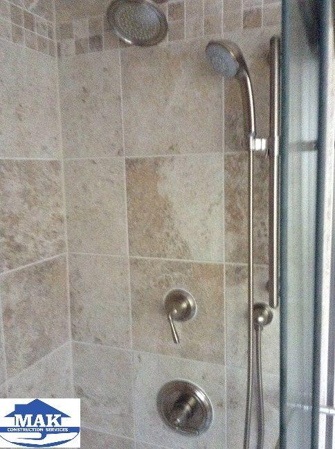 Master Bath Shower With Multi Head Shower System   MAK LaPlata, MD Master  Bath Remodel   Pinterest   Master Bath Shower, Shower Systems And Master  Bath