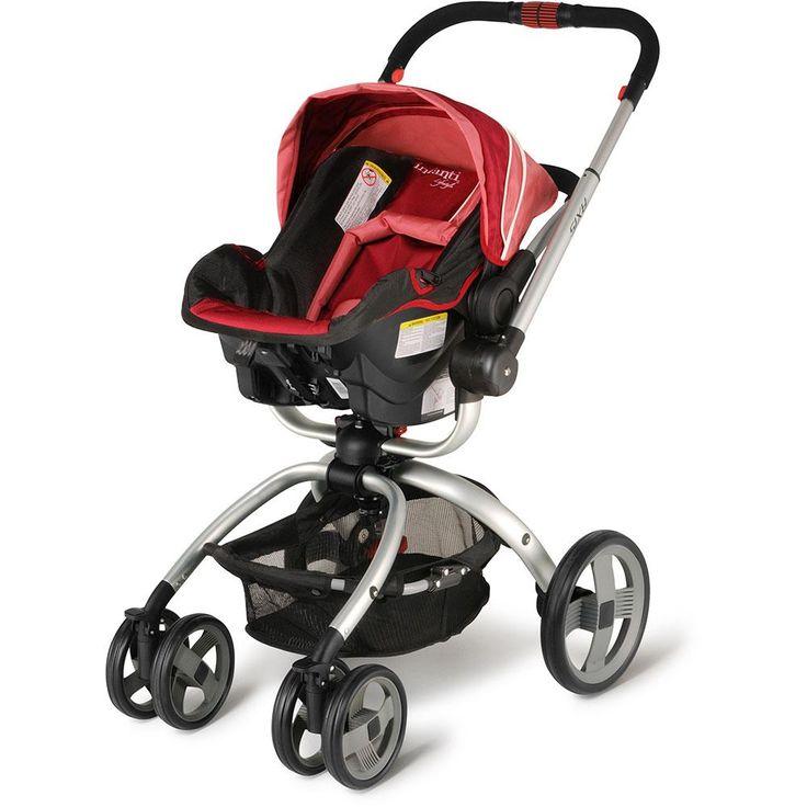 Carrinho Travel System TS Axis Scratch Magenta - Infanti -Bebês e Crianças - Carrinhos de Bebê - Walmart.com