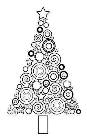 Dessin Sapin De Noel Moderne Comment Dessiner Un Arbre De Noel