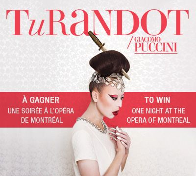 À gagner, une soirée à l'opéra de Mtl + 250$ chez boutique 1861 ♡ You could win one night at the opera of Mtl + $250 at 1861 ♡
