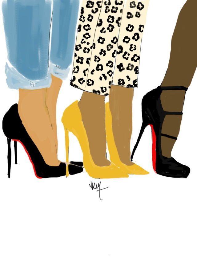 Meeting With the Girls de la boutique Nikisgroove sur Etsy