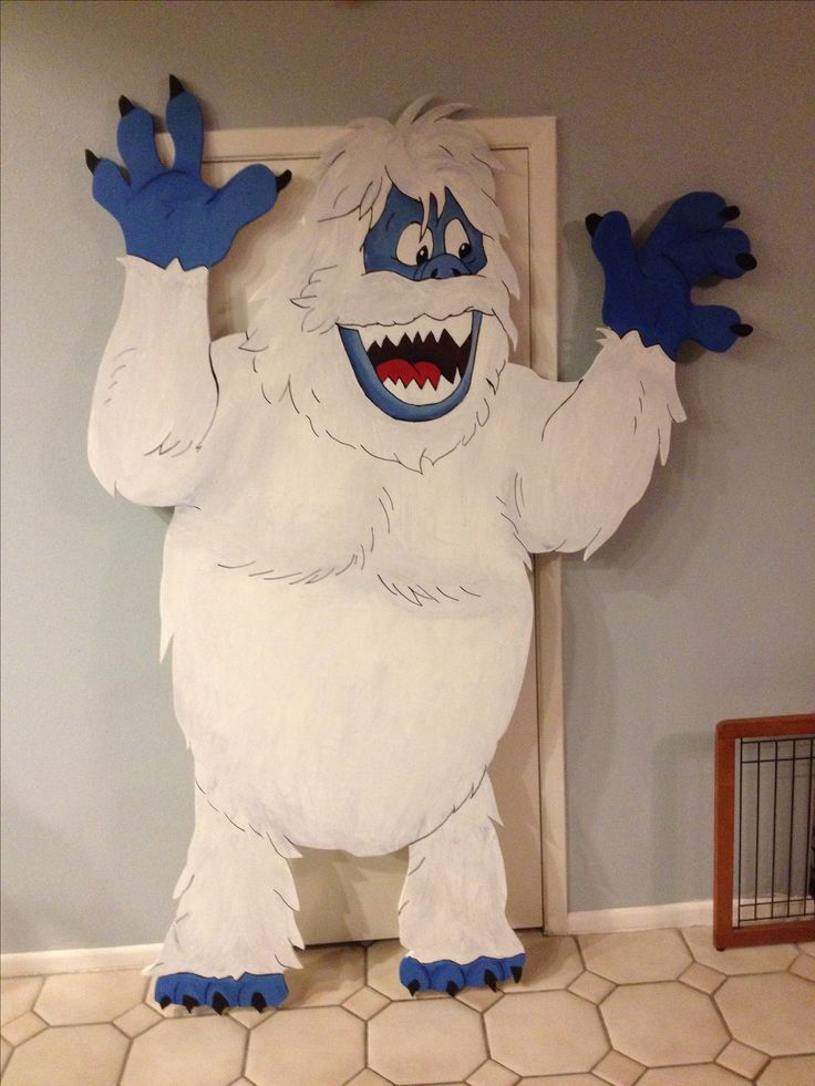 25 best ideas about bumble rudolph on pinterest for Abominable snowman holiday decoration