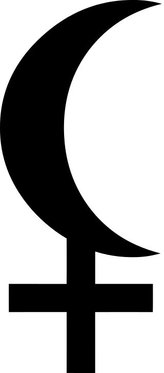 Black moon Lilith symbol In present-day astrology, the name Lilith is usually given to a point on the horoscope that represents the direction of the actual moon's apogee, unrelated to the hypothetical second moon. When considered as a point, this Lilith is sometimes defined as the second focus of the ellipse described by the Moon's orbit; the earth is the first focus, and the apogee lies in the same direction. It takes 8 years and 10 months to complete its circuit around the zodiac.
