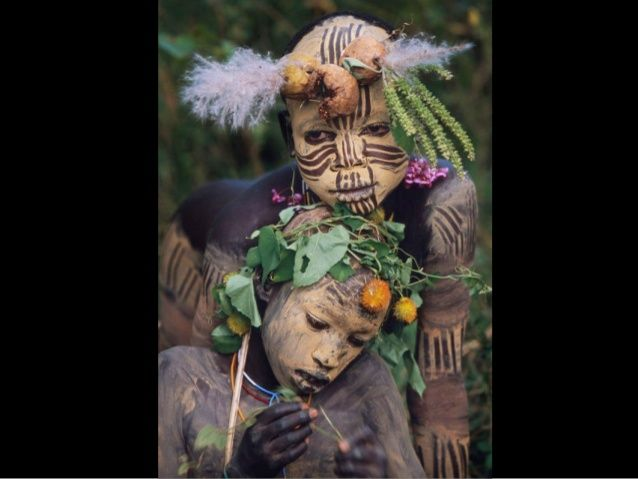The Omo People by Hans Silvester