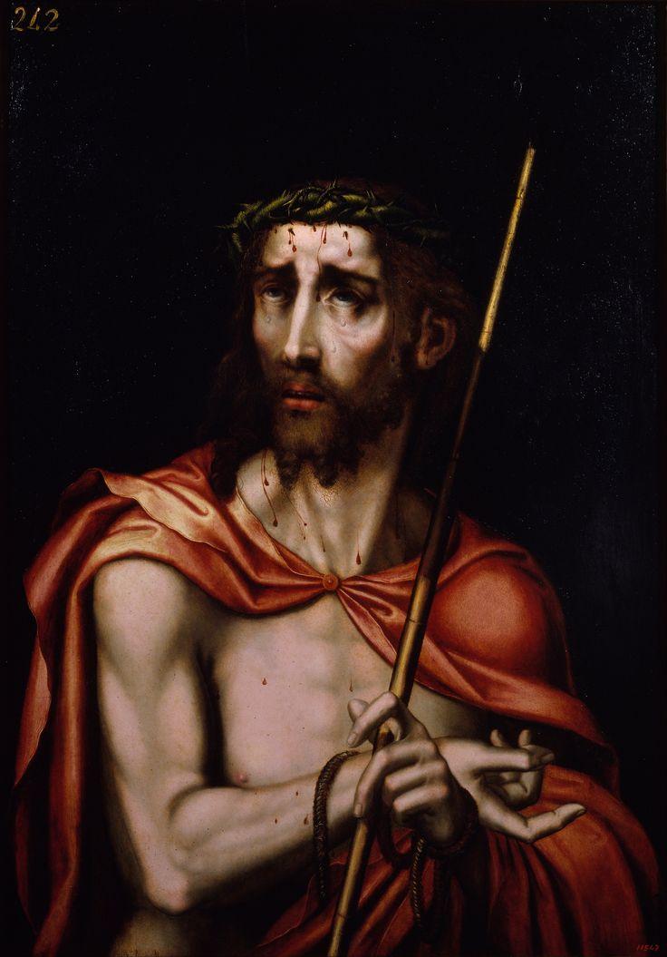 Ecce Hommo, es una obra realizada por Luis de Morales entre 1560 y 1570, utilizando la técnica de óleo sobre tabla.