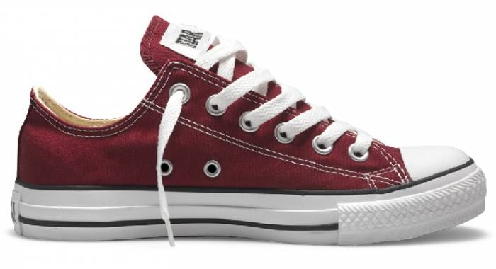 59dff9ad91fd9 ... d5818018b53 Converse-All-Star Bordo Leather . Shoes . Bags Pinterest  Converse