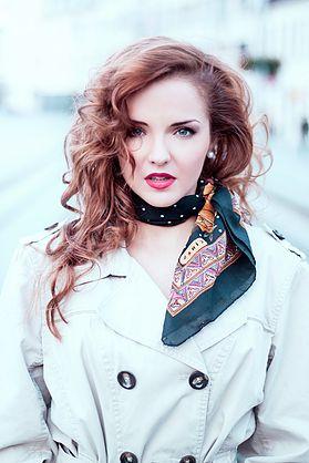 GLAMOUR make-up  photo by Lenka Beluská
