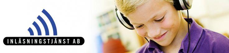 Inläsningstjänst. Inlästa läromedel och skönlitteratur för Nilaskolan. Talböcker för den med tillstånd och ljudböcker för alla.