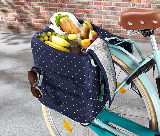 Taška na kolo nebo přes rameno s funkcí chlazení