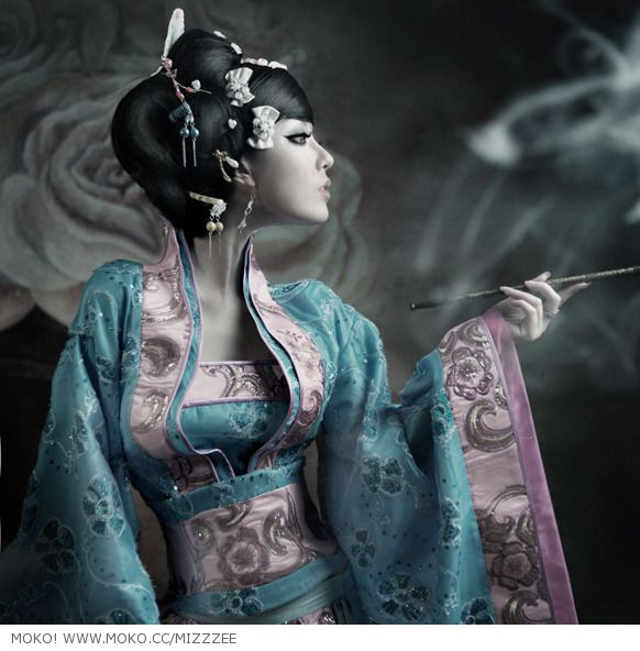 Japanese cultural fashion. 3
