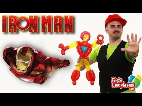 Iron Man Balloon - Scultura con Palloncini - Scultura con palloncini Iron Man, how to create Iron Man with Balloon. Realizziamo una scultura di palloncini a forma di Iron Man.  Iron Man Balloon - Scultura con Palloncini - Bentornati nel mondo dei Supereroi! oggi vedremo insieme come realizzare una scultura con i palloncini modellabili a forma di Iron Man, l'eroe della Marvel.