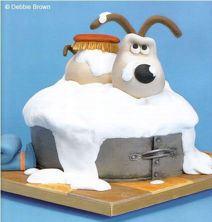 Wallace & Gromit Cakes-omg!! one of my favorite cartoon and movie!! :)