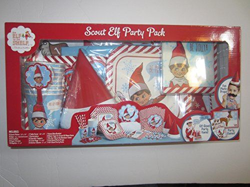 The Elf on the Shelf - scout elf party pack for 8