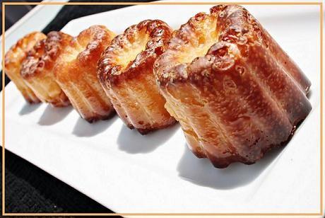 Canneles de Burdeos | Cocina Francesa