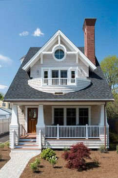 Barrington Cottage - Craftsman - Exterior - boston - by Christopher Hall Architect, Inc.