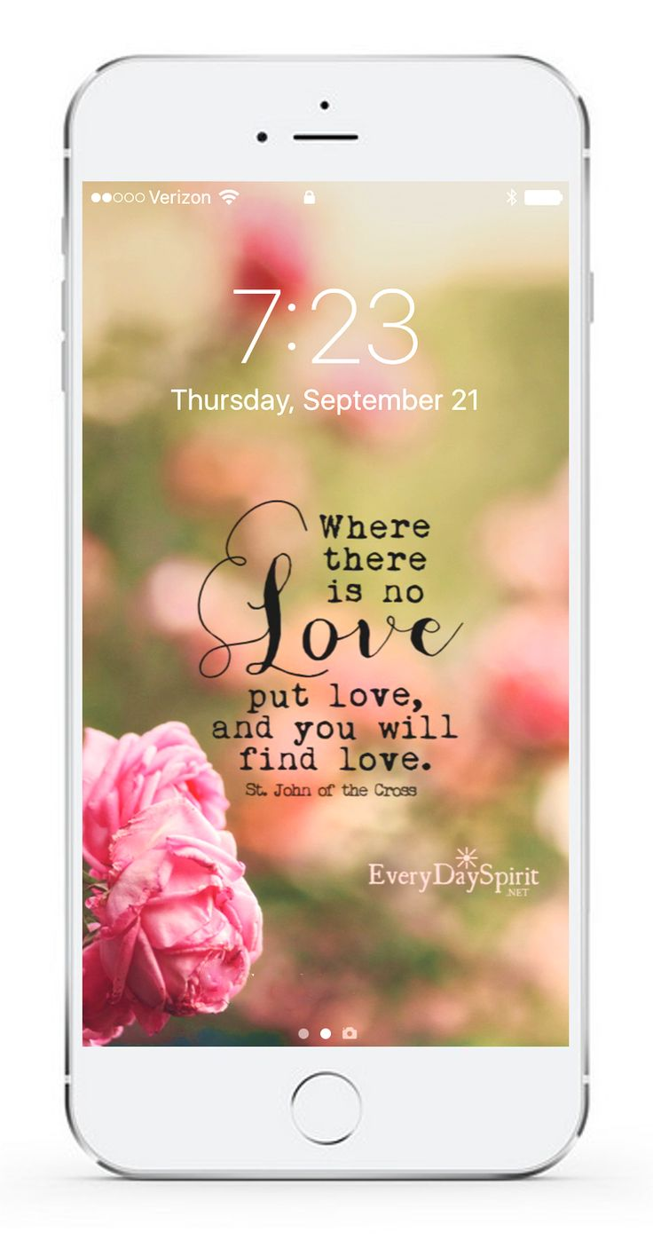Over 850 wallpapers that lift your spirits. Every Day Spirit Lock Screens is an app of beautiful and positive mobile wallpapers that fill your screen with love. See more at ~ www.everydayspirit.net xo #wallpaper #positivity #mobilewallpaper #inspiration #selflove #gratitude #prayer #inspirationalquotes