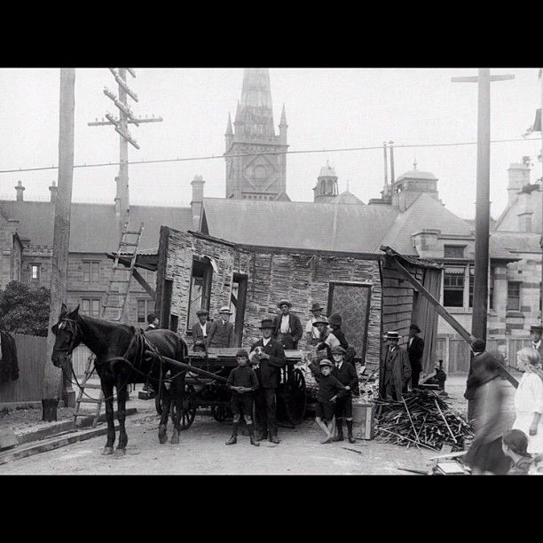 Brown St & Missenden Rd, Camperdown, in 1916.