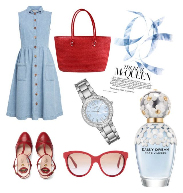 Untitled #56 by danaemf on Polyvore featuring polyvore fashion style Gucci Geneva Dolce&Gabbana Marc Jacobs clothing