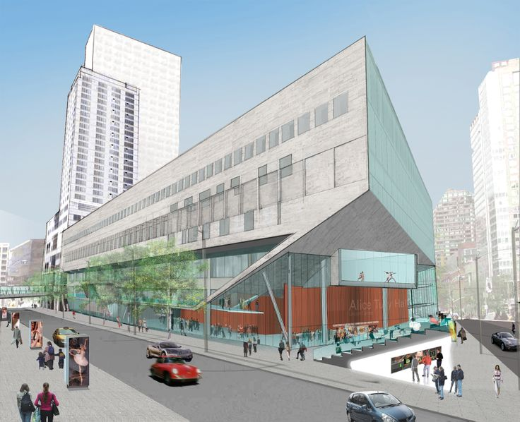 Alice Tully Hall by Diller Scofidio + Renfro