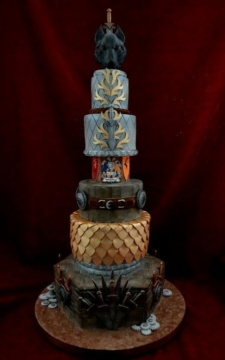 Best 25 game og thrones ideas on pinterest game of for Amazing wedding cake decoration game