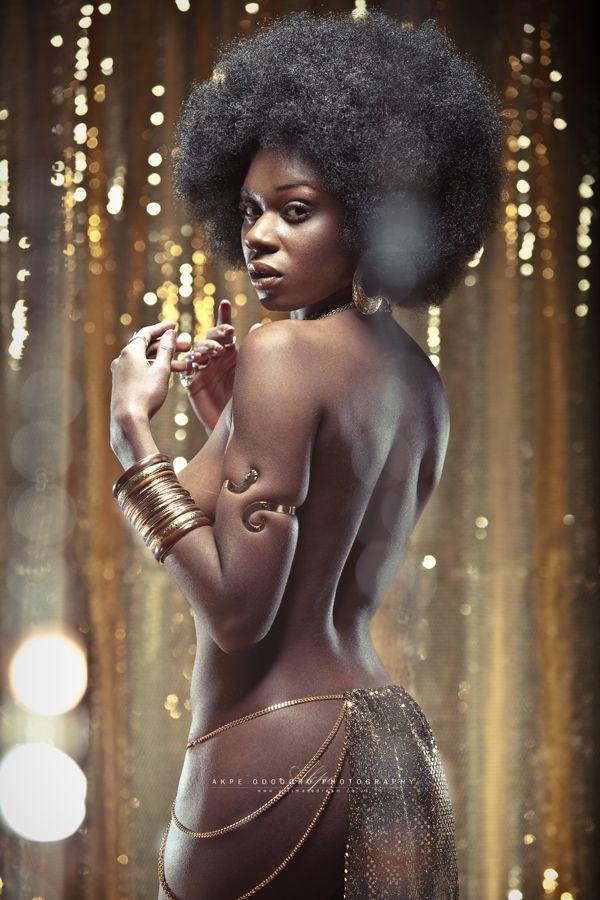 Sexy dark skinned female accept. opinion