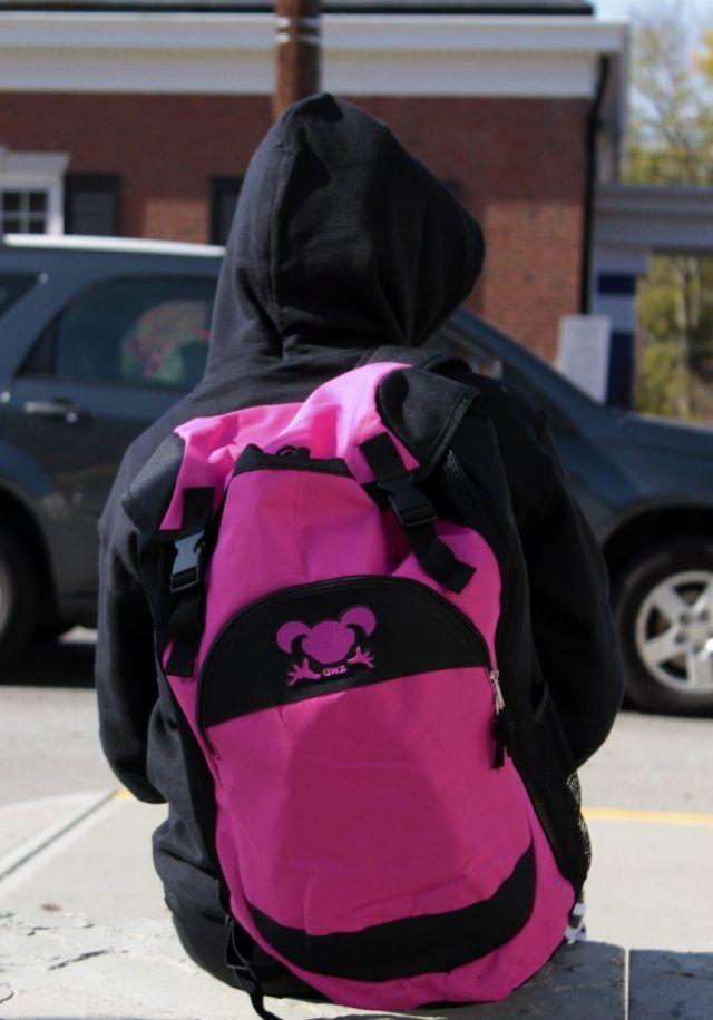 Girl Wrestling Bag Pink and Purple