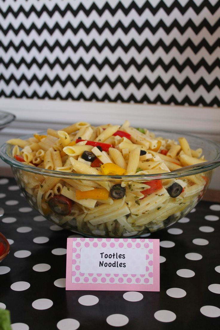 Mickey Mouse Food: Tootles Noodles