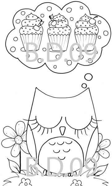 owl printable coloring pages - Cute Owl Printable Coloring Pages