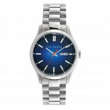 Ted Baker Gents S/Steel Blue Dial Watch TE10023467