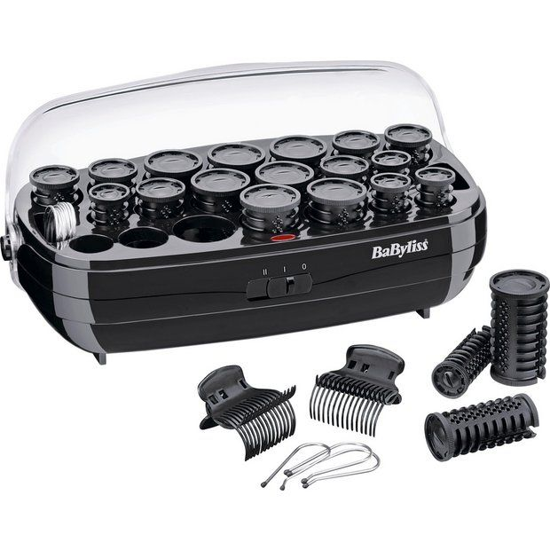 Buy BaByliss Thermo Ceramic Heated Hair Rollers at Argos.co.uk - Your Online Shop for Hair rollers, Hair care, Health and beauty.