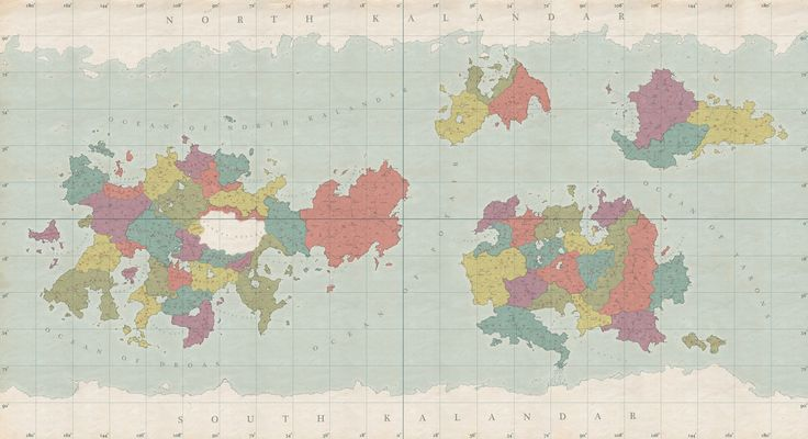 The actual map of the composition. Made for the November 2013 Challenge, of the Cartographers Guild. The challenge was to create a map that could be used as a globe.Made in Photoshop.