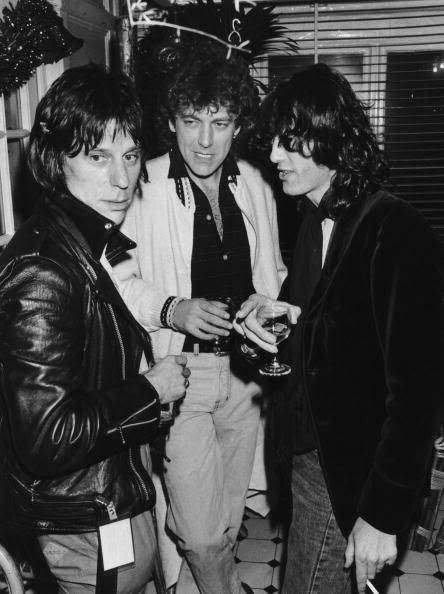 w/ Jeff Beck & Robert, probably 1983 [dnlok 2/27]