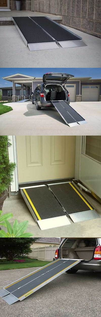 Access Ramps: 4 Foot Suitcase Advantage Portable Wheelchair Ramp - Ez Access Nib Free Shipping BUY IT NOW ONLY: $159.95