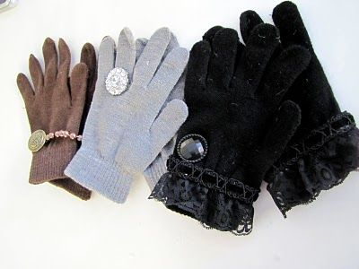 10 Gorgeous DIY Gloves ... | All Women Stalk